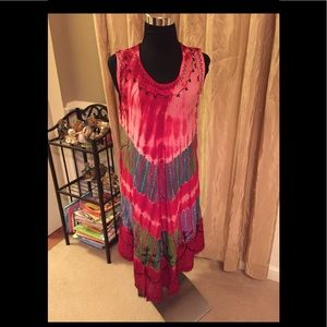 Dresses & Skirts - 💯 Percent Rayon Tye Dye SunDresses OSFA CHOOSE